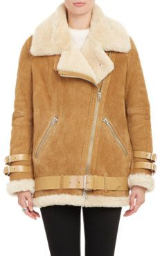 Shearling-Lined Velocite Moto Jacket