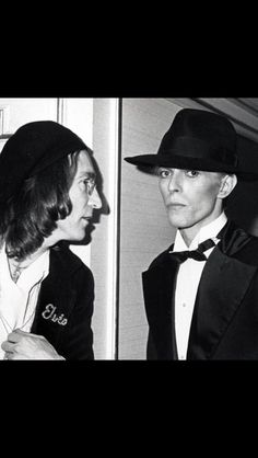 Bowie and Lennon