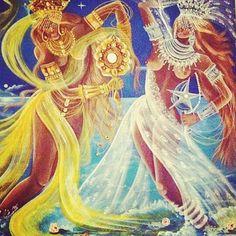 Oxum e Iemanjá... - Salve a Rainha Do Mar,Salve mãe Yemanjá