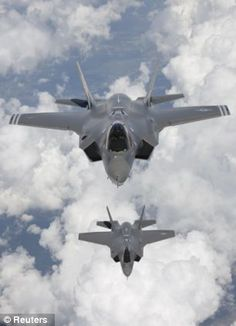 The F-35 is banned from flying in bad weather because it could EXPLODE  F-35 Joint Strike Fighter not allowed to fly within 25 miles of thunderstorms  Engineers found its fuel tank could explode if hit by lightning  Britain committed to buying 48 of the aircraft, while U.S. is buying 2,500