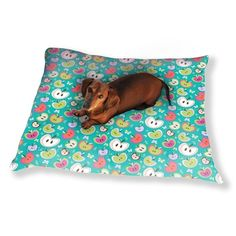 Uneekee The Sweetest Apples Dog Pillow Luxury Dog / Cat Pet Bed