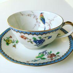 Limoges Paradise tea cup