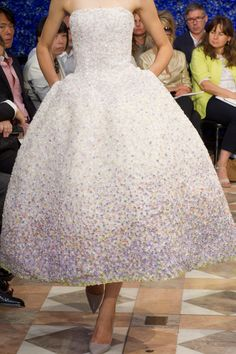 Christian Dior - oh to have an occasion to wear this