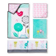 Circo� Burst of Spring 4pc Crib Bedding Set....Girly??