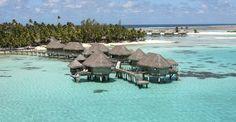 Niché dans une cocoteraie sauvage et bordé de plages désertes de sable rose, le Tikehau Resort dispose de bungalows et suites sur pilotis.