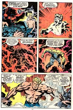The origin of Captain America as only Jack Kirby can tell it!