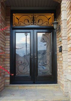 Looking for many designs and ideas about front doors with glass? This post will tell & extra wide contemporay front door | entry--extra wide contemporary ... pezcame.com