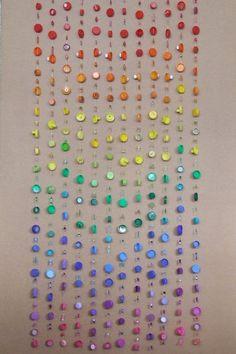 Rainbow Curtain Plastic Bottle Tops U0026 Beads (https://www.facebook.