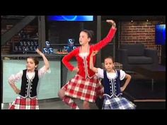 Manitoba Highland Dancers Association Performs on the BT Stage - YouTube