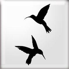The Stencil Studio Ltd - Humming Bird Silhouette Stencil - Reusable Stencil… Swallow Bird Tattoos, Tiny Bird Tattoos, Bird Tattoo Wrist, Hummingbird Tattoo, Bird Silhouette Art, Stencils, Bird Stencil, Bird Quotes, Bird Crafts