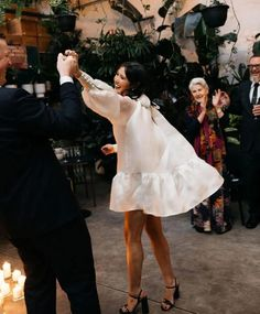 Don't let first dance jitters stop you from having your romantic moment. DJ Malike shares how to overcome your nerves and prep for the first dance at your wedding. Dress Shapes, Dance Outfits, Dancing Outfit, Fancy Pants, Material Girls, How To Look Classy, Here Comes The Bride, Wedding Bells, Wedding Reception