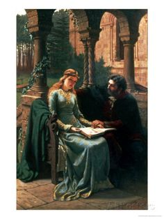 Abelard and His Pupil Heloise, 1882 Giclee Print by Edmund Blair Leighton at AllPosters.com