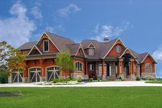 Expandable Mountain House Plan - 25637GE | Architectural Designs - House Plans