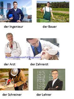 German For Beginners: Die Berufe