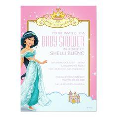 Disney Princess Jasmine It's a Girl Baby Shower