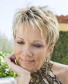 Wondrous Short Hairstyles Denise Welch And Platinum Pixie On Pinterest Short Hairstyles Gunalazisus