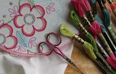 - © Cheryl C. Fall, Licensed to About.com--Embroidery info, patterns stitch how too's, etc...
