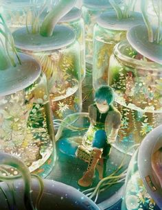 Anime boy with dark hair. Flowers and plane Anime Yugioh, Anime Pokemon, Manga Anime, Manga Art, Anime Artwork, Fantasy Artwork, Anime Quotes Tumblr, Anime Body, Anime Plus