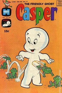 Casper the Friendly Ghost Series Harvey) 143 Vintage Comic Books, Vintage Cartoon, Vintage Comics, Cartoon Books, Cartoon Posters, Casper The Friendly Ghost, Graphic Wallpaper, Old Comics, Indie Kids