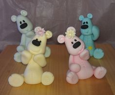 Baby shower cupcake toppers by mick6799, via Flickr
