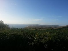 Isle of Wight view from Black Gang Chine...Aug 2013