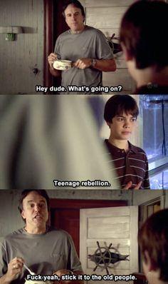 Teenage rebellion… @Hannah Edmondston