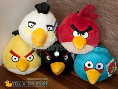 Angry Birds Plushies!