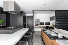 Galeria de Apartamento LR / UNIC Arquitetura - 8 Space Dividers, Living Room, Interior Design, Architecture, Kitchen, Table, Furniture, Home Decor, House