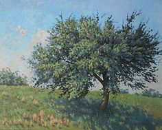 Apple Tree Apple Tree, Landscape Paintings, Plants, Garden, Art, Art Background, Garten, Kunst, Landscape