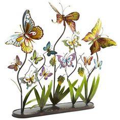 Metal Butterflies, $59.95  #2567419