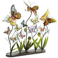 Metal Butterflies, $59.95  #2567419