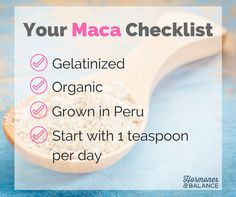 take 1tsp-1tbsp maca every day for a few months and then take a break. This allows the cell receptors that detect maca to have a break too, so they don't get too clever and try to shut down because you are getting maca so regularly.