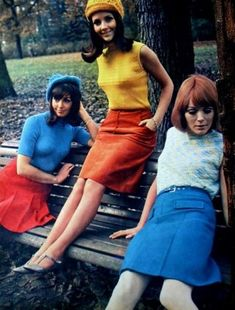 Bunt, bunter, Sixties Mode                                                                                                                                                                                 Mehr