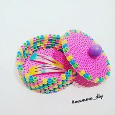Box hama beads by mamma_diy