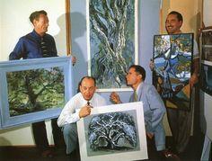Marc Davis: Four Men and a Tree