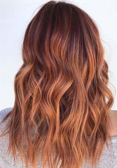 See here the beautiful ideas and shades of copper red hair colors to apply right now. This post is full of best trends of various hair colors including the stunning red and copper hair colors. Make you look more elegant than before by wearing these sensational trends of copper red hair colors right now.