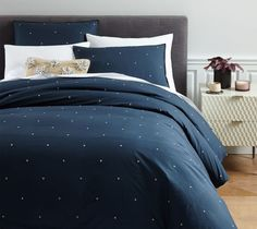 West Elm Washed Cotton Duvet