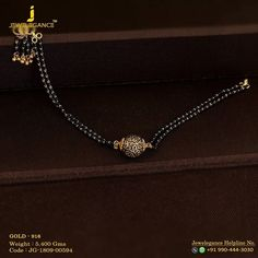Gold 916 Premium Design Get in touch with us on Gold Bangles Design, Gold Earrings Designs, Gold Jewellery Design, Gold Designs, Mangalsutra Bracelet, Beaded Jewelry, Gold Jewelry, Black Diamond Jewelry, Pearl Jewelry