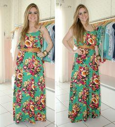 vestidos longos estampados - Pesquisa Google