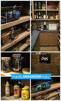 Kuzak's Closet Perfectly Organized Pantry