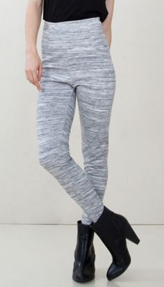 Space Dye Leggings*  The comfort these leggings provide is out of this world. These heather grey high waist leggings are perfect for lounging, or can be paired with booties for a more dressed up look.  Free shipping. Free returns.