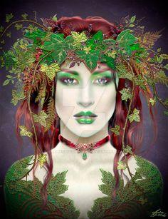 Poison Ivy Copy by Maxinesimaginarium.deviantart.com on @DeviantArt