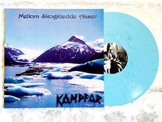 KAMPFAR LP: MELLOM SKOGKLEDDE AASER Limited Blue Vinyl BLACK METAL Hammerheart