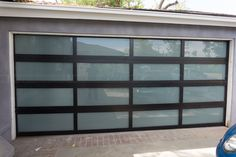 Aluminum Garage Doors Garage Doors In Stock! Why Choose Us Highly Rated Customer Service Highest Quality Aluminum Garage Door Customer Satisfaction Guaranteed No Hidden Fees or Additional Charges Why We Differ From Other Competitors Dual Pane Thick Metal Garage Doors, Custom Garage Doors, Modern Garage Doors, Glass Garage Door, Metal Garages, Garage Door Design, Aluminum Garage, Spanish Modern, Cool Garages