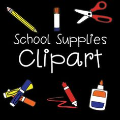 Thank you for your interest in my free school supplies clipart! I worked really hard on these for my Classroom Labels, School Classroom, Art School, Back To School, School Stuff, Classroom Ideas, Free Clipart For Teachers, Free School Supplies, School Border