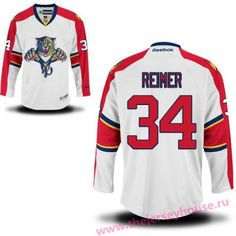 8405ed082f3 Men s Florida Panthers  34 Premier Away White Hockey Jersey Winchester