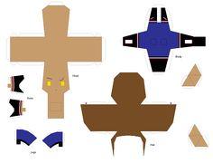 Paper Crafts: Clawd Wolf by KPenDragon.deviantart.com on @deviantART