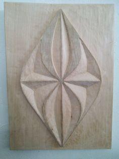 ejercicio 03 de talla en madera 2014