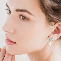 Britten Weddings Pearl Wedding Earrings