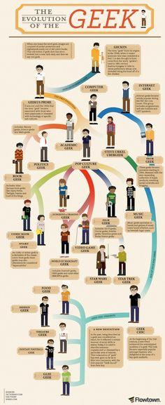 #geek evolution